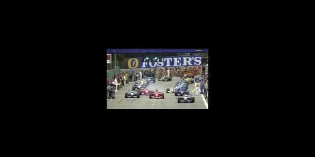 Schumacher fête dignement ses dix ans de F1 - La Libre