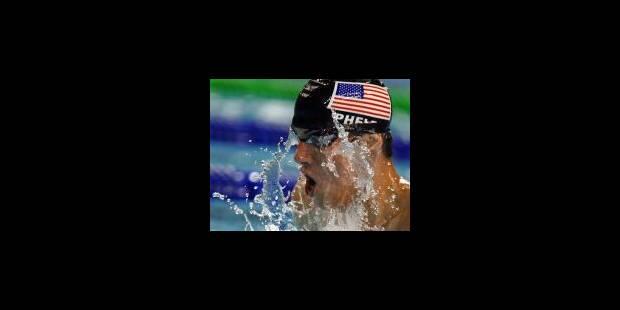 Michaël Phelps a tout d'un grand - La Libre