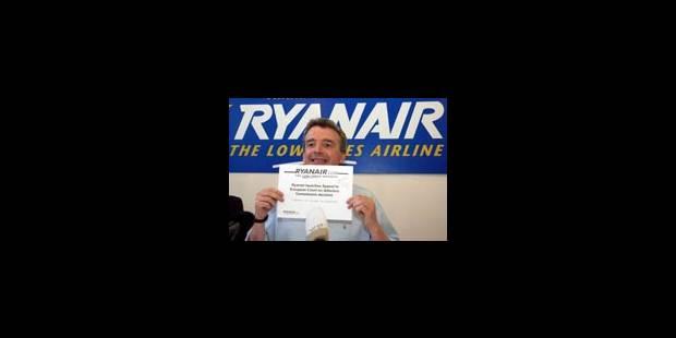 Ryanair fait appel de la décision européenne - La Libre