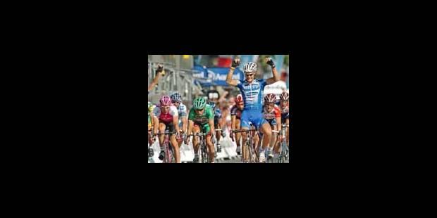 Armstrong et Boonen célèbrent sur les Champs - La Libre