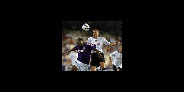 Anderlecht trop frileux à Valence - La Libre