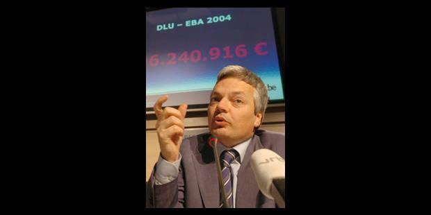 496 millions d'euros d'amendes - La Libre