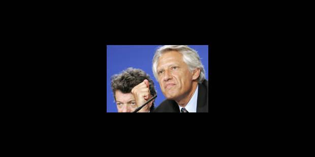 Villepin convoque une réunion sur la sécurité - La Libre