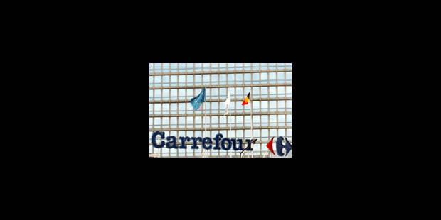 Carrefour ne garde que trois enseignes - La Libre