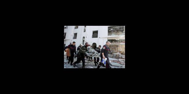 Double attentat à Alger - La Libre