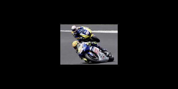 90e victoire de Rossi - La Libre