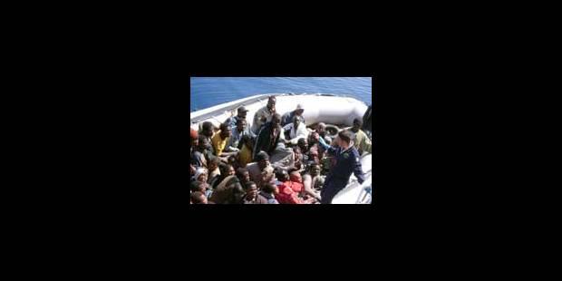 341 immigrés clandestins arrivent à Lampedusa - La Libre
