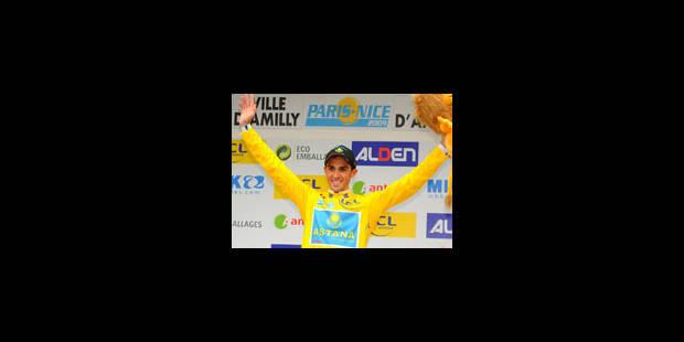 Paris-Nice: Alberto Contador gagne la 1ère étape - La Libre