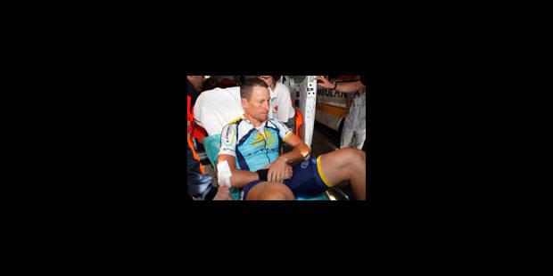 Fracture de la clavicule pour Lance Armstrong - La Libre