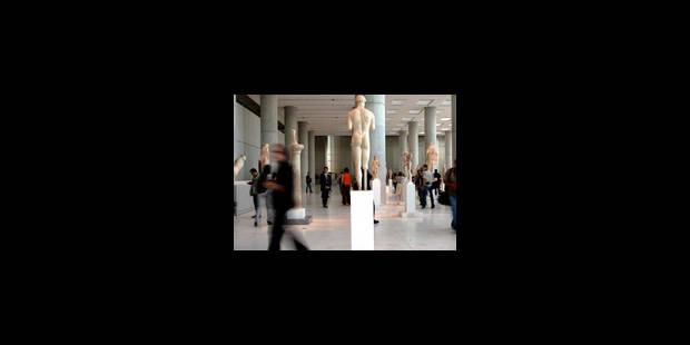 Rendre les marbres grecs - La Libre