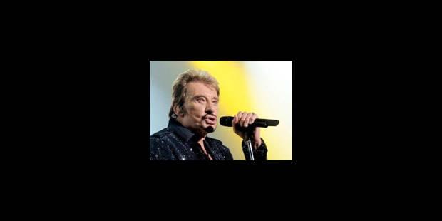 Le concert de Johnny Hallyday annulé - La Libre
