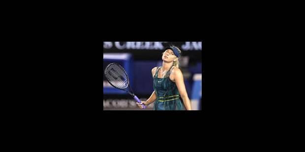 Sharapova éliminée au premier tour de l'Open d'Australie - La Libre