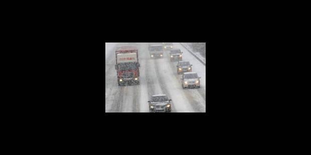 Neige: le trafic a repris - La Libre