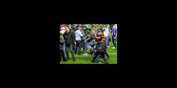 Incidents : Anderlecht met l'organisation en cause - La Libre