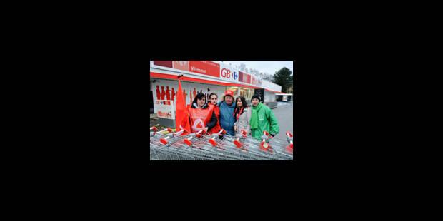 Carrefour: la grève se poursuit dans 57 magasins - La Libre