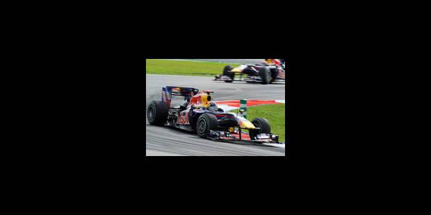 Vettel conjure le mauvais sort - La Libre