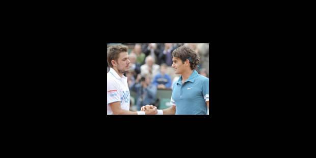Federer déroule jusqu'en quarts de finale - La Libre