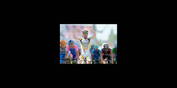 Triplé de Cavendish, Petacchi prend le maillot vert - La Libre