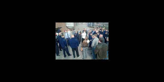 La grève continue à la prison - La Libre