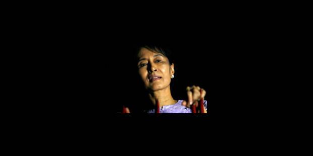 Suu Kyi veut porter ses efforts sur le sort des détenus politiques - La Libre
