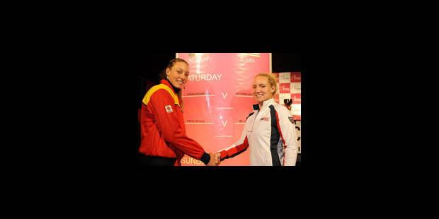 Fed Cup: Wickmayer VS Mattek-Sands en ouverture - La Libre