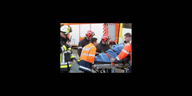 Accident mortel ce matin à Houdeng - La Libre