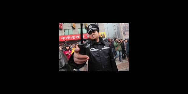 Chine: pas de tensions malgré les appels à des rassemblements - La Libre