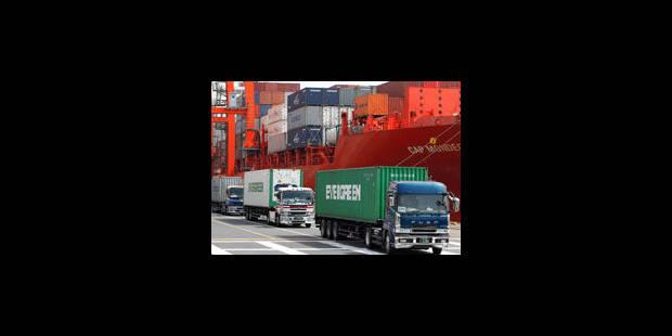 Bruxelles pèse 25 % des exports - La Libre