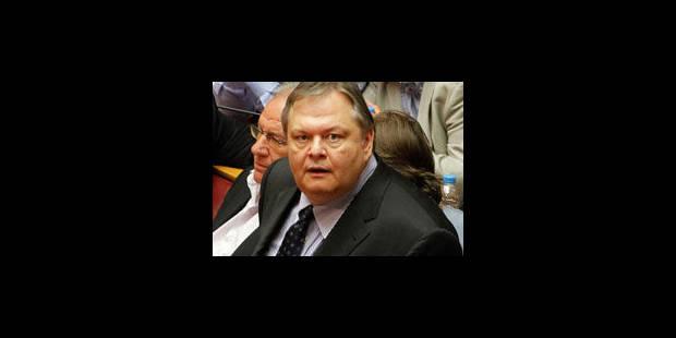 Grèce: Evangelos Venizelos aux Finances et vice-premier ministre - La Libre