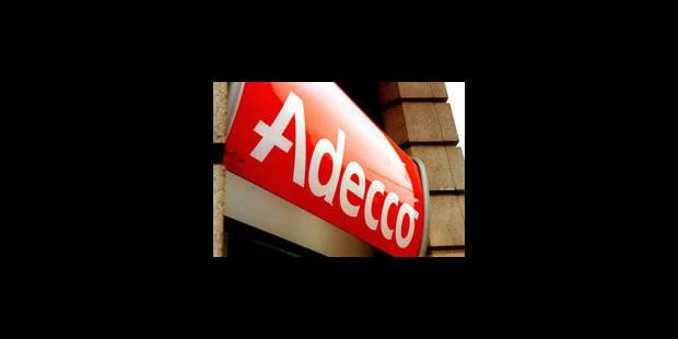 """Une liste de sociétés réclament des intérimaires """"bien belges"""" à Adecco - La Libre"""
