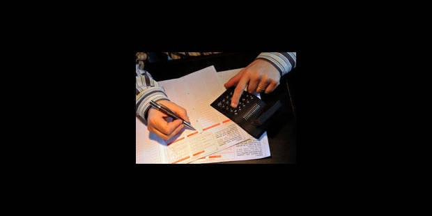 Correction automatique des erreurs contenues dans la déclaration fiscale - La Libre