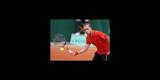 Darcis en quarts de finale du Challenger de Sopot - La Libre