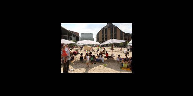 La plage de Louvain-la-Neuve, c'est parti! - La Libre