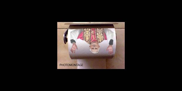 Le pape trône sur le papier toilette espagnol - La Libre