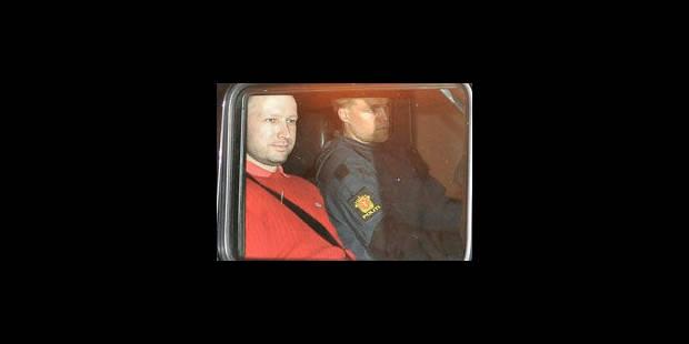Breivik va pouvoir sortir du régime d'isolement total - La Libre