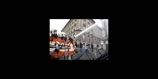 Grève: les pompiers bruxellois apaisés après leur entretien avec Van Quickenborne - La Libre