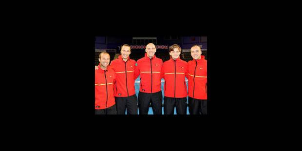 Coupe Davis : la Belgique à un point de la qualification - La Libre