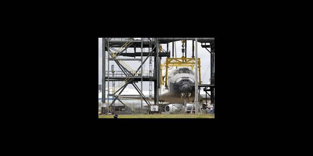 Le 1er vol privé vers la station spatiale prévue le 30 avril - La Libre