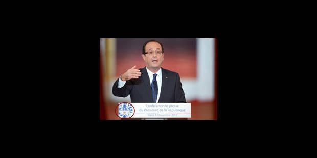 Le curieux logo de Hollande - La Libre