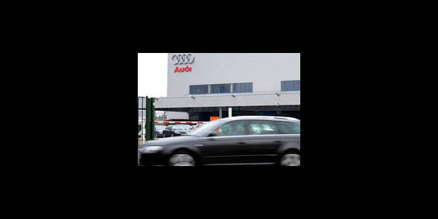 Un nouvel atelier de peinture pour Audi Bruxelles - La Libre