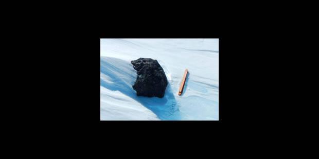 Des chercheurs belges trouvent une météorite en Antarctique - La Libre