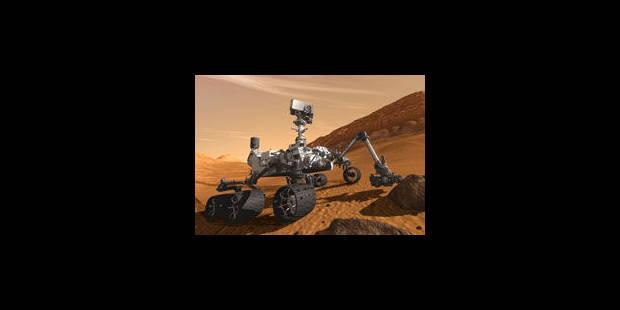 Le robot Curiosity victime d'une panne d'ordinateur - La Libre