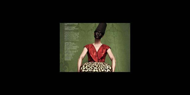 Polémique autour d'un mannequin grimé de noir - La Libre