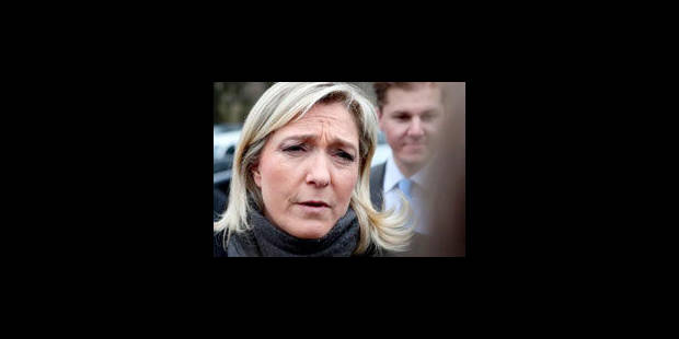 Marine Le Pen s'est fracturé la colonne vertébrale - La Libre