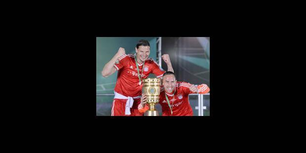 Le Bayern voit triple - La Libre