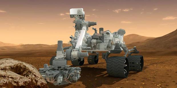 La Nasa va chercher des traces de vie sur Mars - La Libre