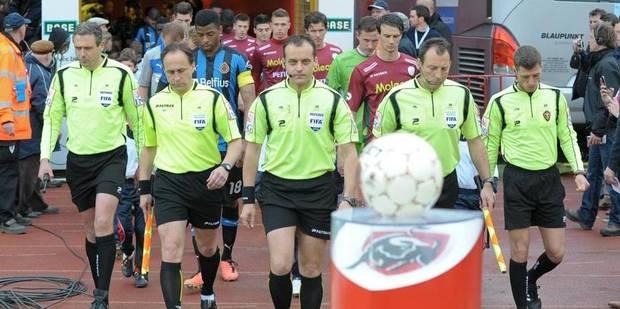 Pro League: les arbitres de première division veulent une augmentation - La Libre