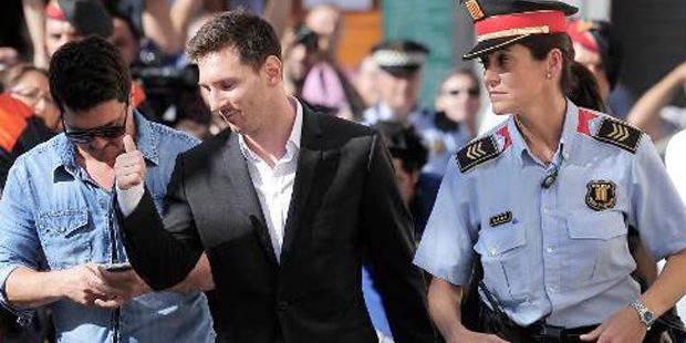 Messi a passé plus de deux heures devant les juges - La Libre