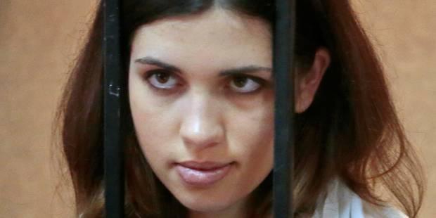Russie: la Pussy Riot hospitalisée cesse sa grève de la faim - La Libre