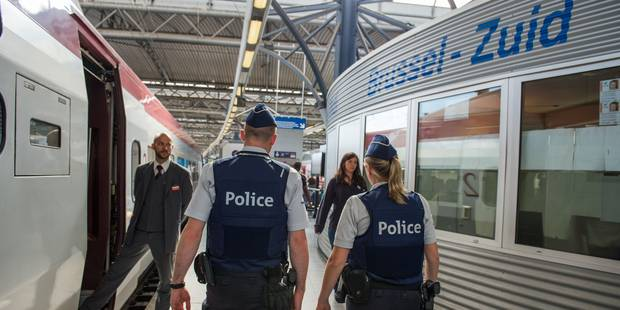 Des voleurs tirent sur une patrouille de police près de la Gare du Midi - La Libre